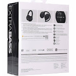 Sony - WH-XB900N Wireless Noise Canceling Over-the-Ear Headphones - Bl