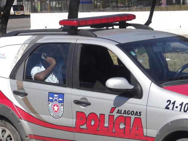 Soldado Geraldo Ferreira Neto aguarda para ser encaimhado ao 59º BIMtz (Foto: Viviane Leão/GloboEsporte.com)