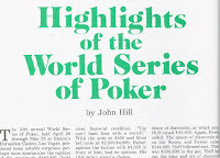 'Highlights from the World Series of Poker' by John Hill