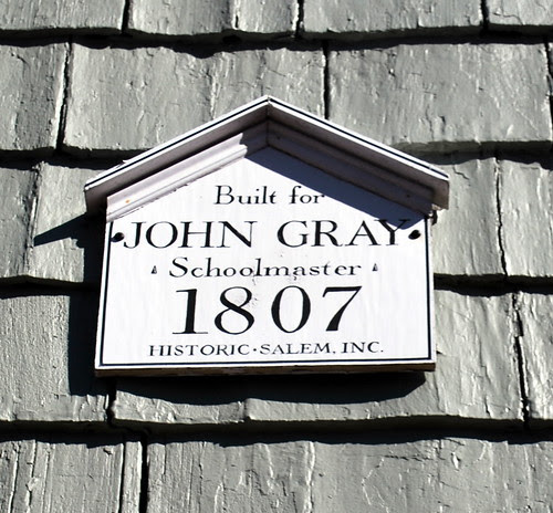 Historic Salem House Marker