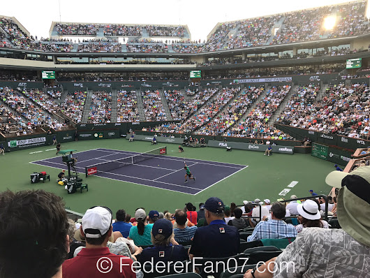 Federer Advances to Fourth Round in Indian Wells • FedFan