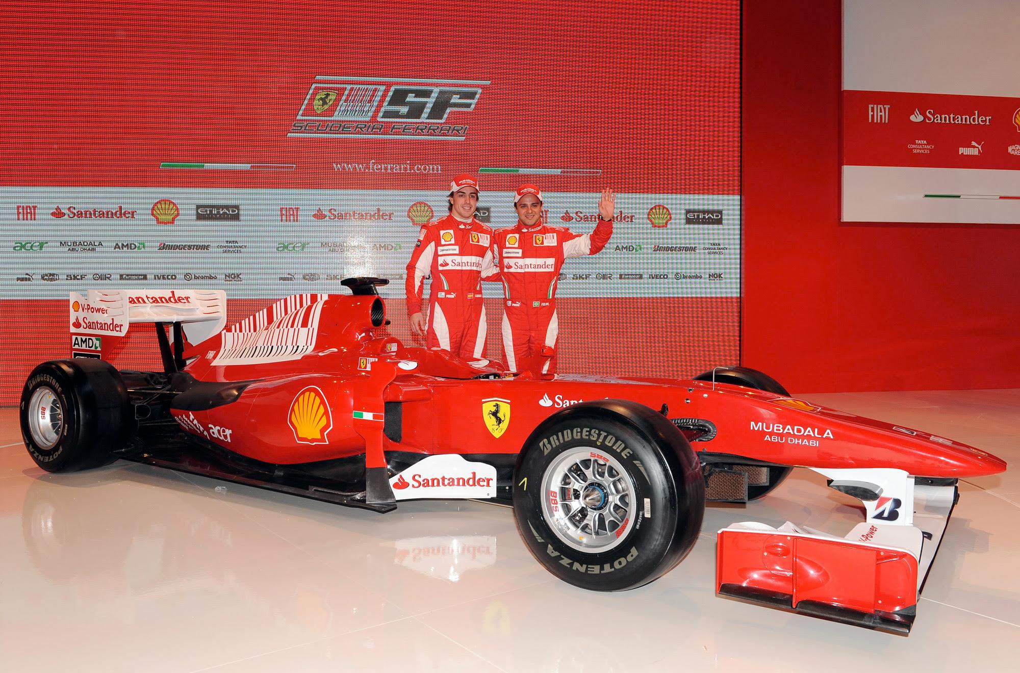 AUSmotive.com » Ferrari unveils 2010 F1 car
