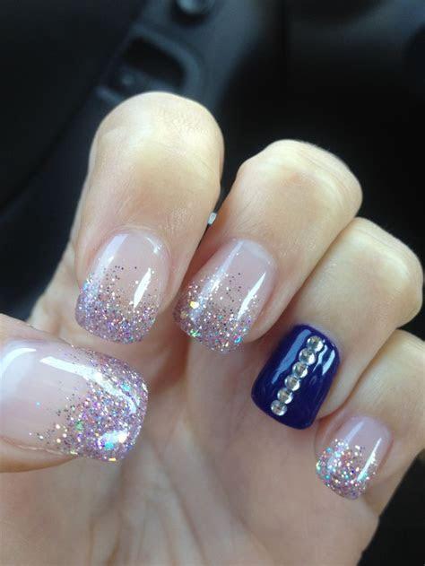 78  ideas about Blue Wedding Nails on Pinterest   Mint