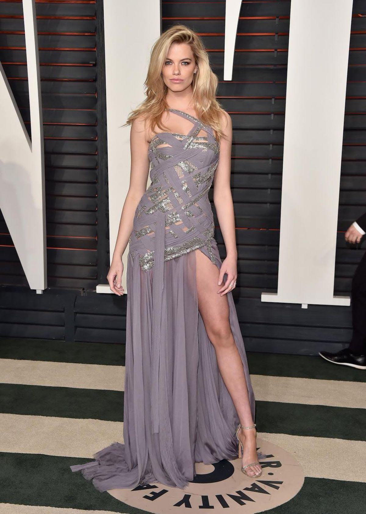 HAILEY CLAUSON at Vanity Fair Oscar 2016 Party in Beverly Hills 02/28/2016