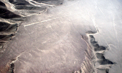 Nazca Lines in Peru The lines near the town Nazca in Peru shows amazing…