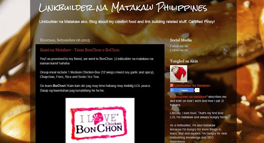 Linkbuilder na Matakaw Launched a new blog