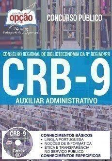 apostila Concurso CRB-9 Região 2017.