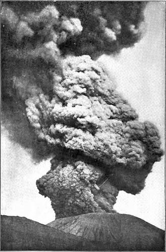 Eruption of Mount Vesuvius