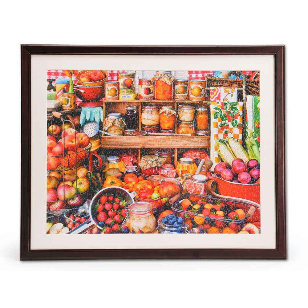 1000 Piece Jigsaw Puzzle Wooden Frame 24 X 30