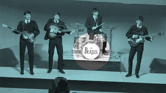 How the Beatles got their famous logo