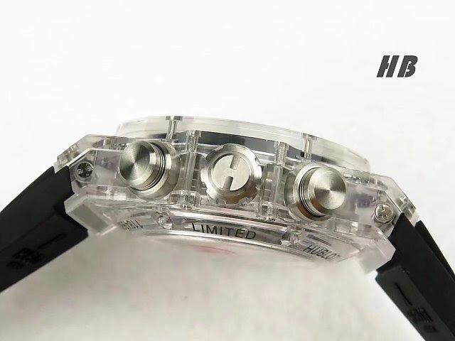 Hublot Unico Sapphire Crown Buttons