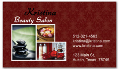 BCS-1094 - salon business card