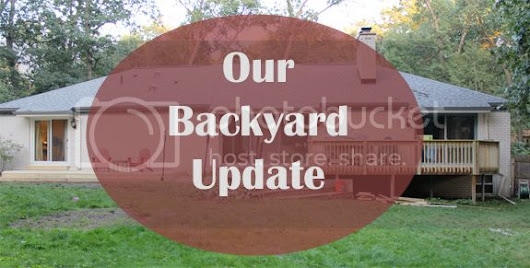 Claiming Our Space: Our Backyard Update - New Entertaining Spaces {Before and After}