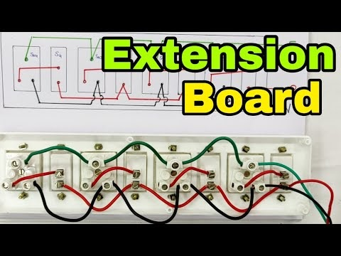 How To Make Electrical Extension Board Step By Step Deepakkumar Yadav