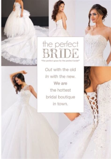 Magazine ad   The Perfect Bride Lebanon   Graphic design