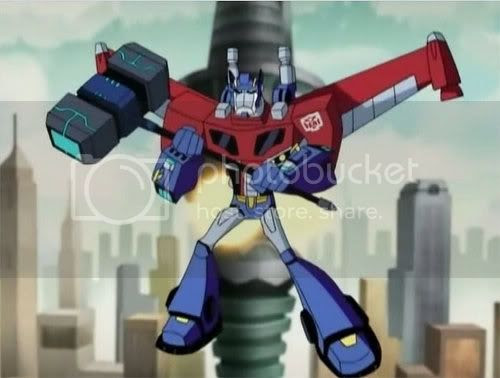 Transformers Animated Optimus Prime
