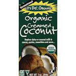 Let's Do Organic Creamed Coconut - 7 oz box