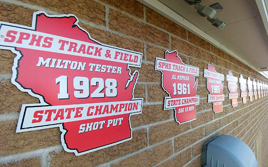 Sun Prairie High School Honors Long History of Track & Field State Champions
