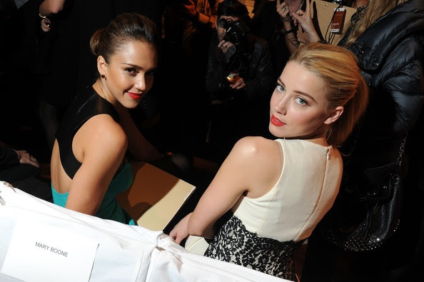 Jessica Alba and Amber Heard