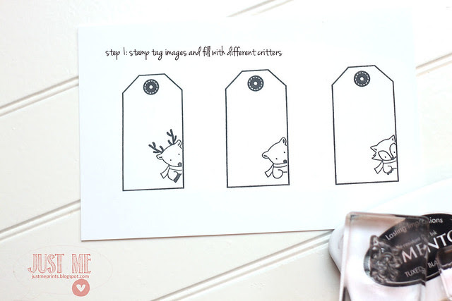 holiday tags in a hurry