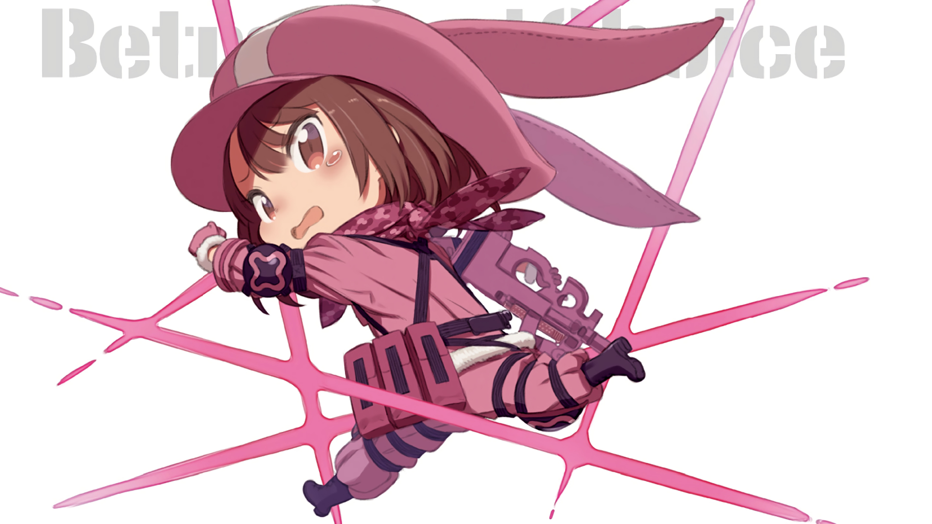 Sao Alternative Gun Gale Online Wallpaper 27