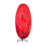 Elf Stor 83-DT5158 Premium Christmas Tree Cover Holiday Red - Medium - 6 ft.