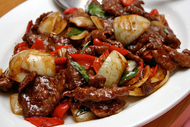Panfried Black Pepper Beef