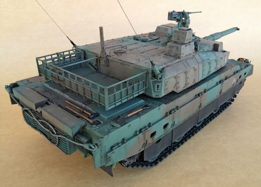 Tamiya 1/16 JGSDF Type 10: tips and tricks to make its construction easier