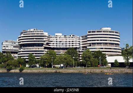The Watergate Complex in Foggy Bottom, Washington DC, USA ...