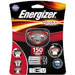 Energizer Vision HD Headlight, Red