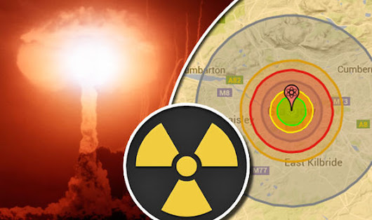 Would YOU be wiped out if the world's biggest nuclear weapon struck your nearest city?