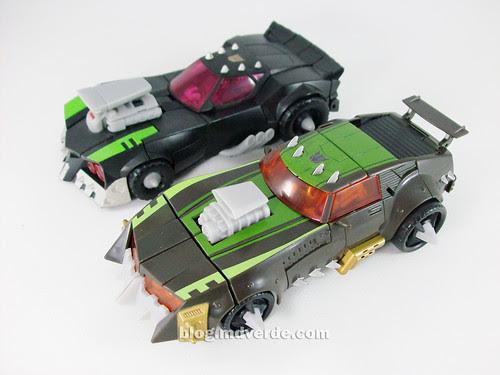 Transformers Lockdown Deluxe RotF NEST vs Animated - modo alterno