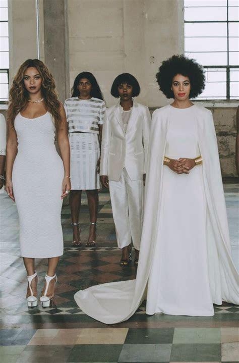 Beyoncè, Jay Z & Blue @ Solange?s wedding in New Orleans