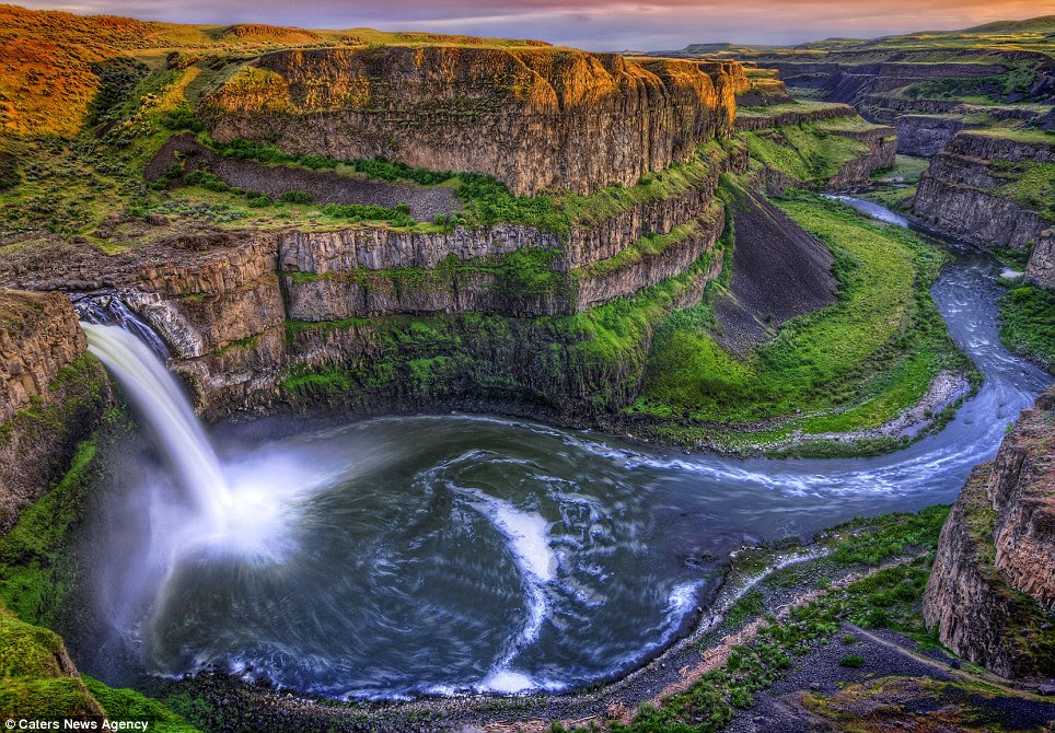 Tourist spot: The Palouse valley is a top destination for photographers all over the world because of its natural beauty
