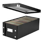 IDE SNS01524 Ideastream Water Resistant DVD Storage Box IDESNS01524