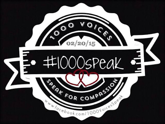 #1000Speak - Re-connecting with Yourself