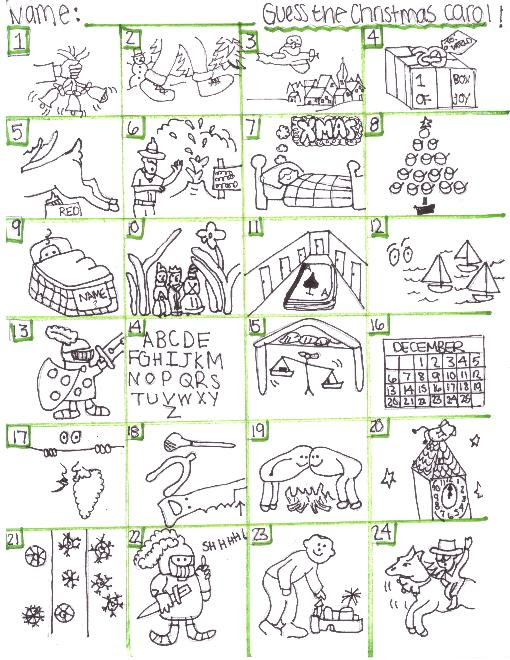 Christmas Printable Gallery Category Page 18