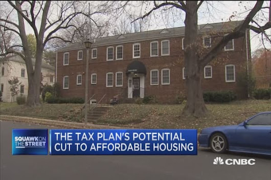 House GOP's tax plan has potential cut to affordable housing