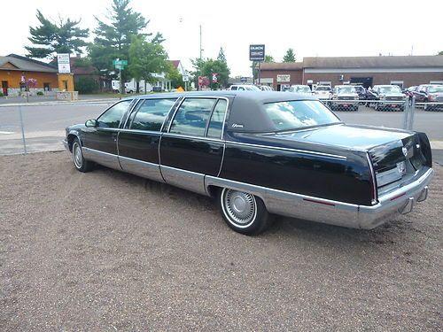 Purchase used 95 Cadillac Fleetwood 6 door Limousine ...