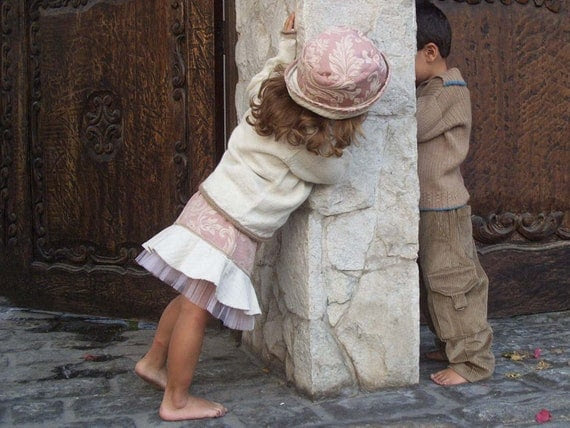 Toddler Skirt and Hat in brocade pink and cream Damask Fashion Couture for Girls
