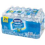 Nestle Pure Life 12243706 Bottle Drinking Water, 0.5 Liter, 24-pack