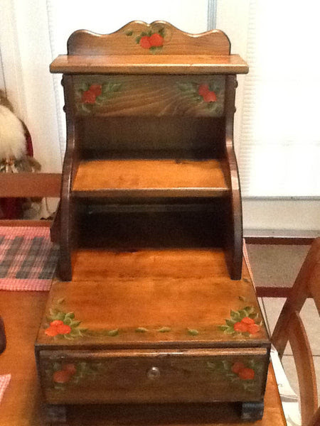 Cash Register Handmade Hand Painted Vintage Craft Show Business Owner Collector