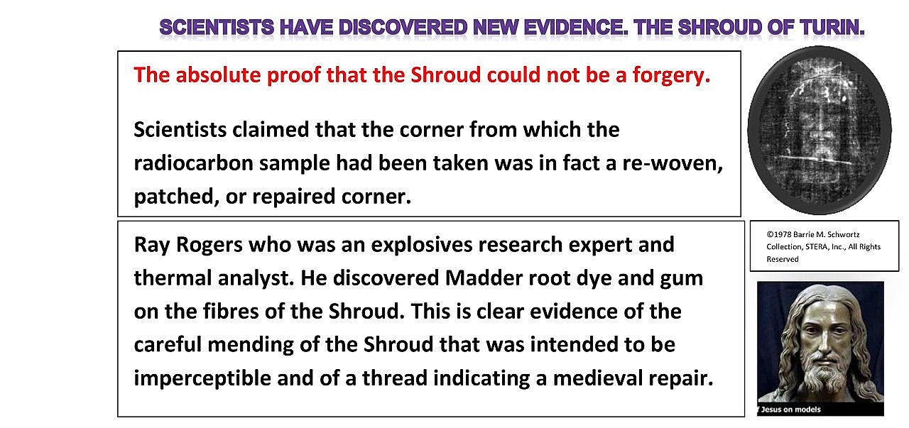 Is the Shroud of Turin a fake or a forgery as many say?  Read more: