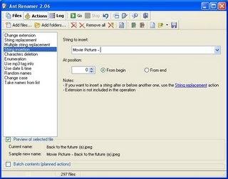 Renommez facilement vos fichiers avec AntRenamer