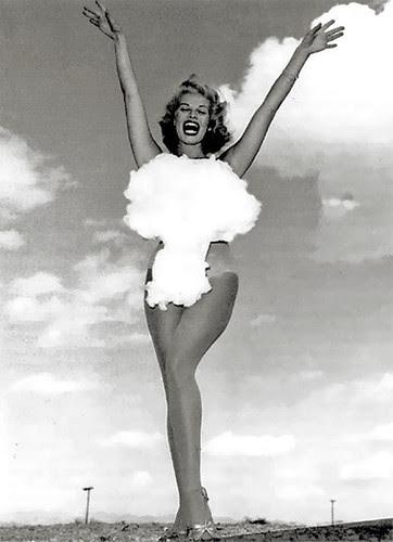 1954 - Miss Atomic Test, Las Vegas