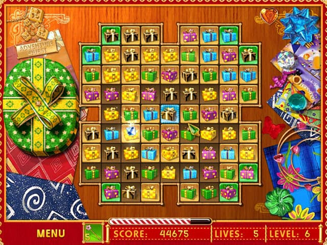 Gift Puzzle Free PC Game Screenshot
