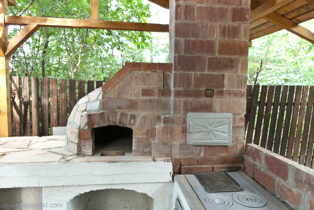 how to build wood fired pizza oven plans