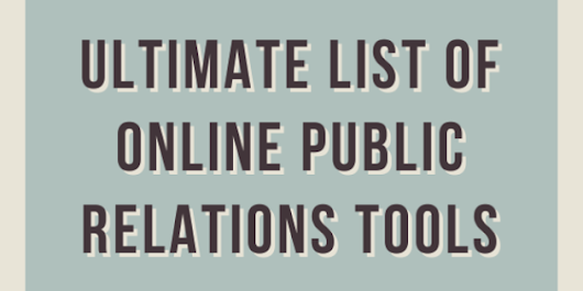 Ultimate List of Online Public Relations Tools - Raven