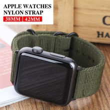Hot Sell Nylon Watchband for Apple Watch Band Series