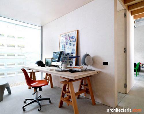 Desain Rumah Dan Ruang Usaha Ruko Rukan 1 Lantai Pt Architectaria Media Cipta